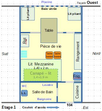 Appartement ROSAS - plan