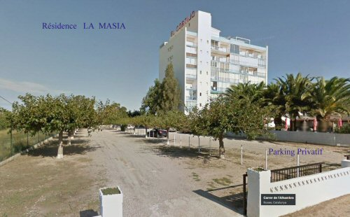 ROSAS, Résidence la Masia - Parking privatif ombragé
